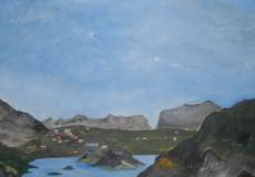 Landskab i Grønland