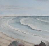 Stenmole ved Vesterhavet