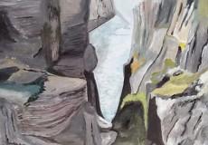Kællingekløften, Grønland