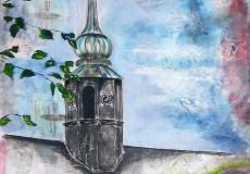 Kirketårnet i Christiansfeld