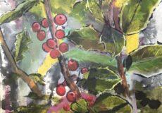 Vinterbær i haven