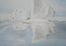 Isbjerg på Grønland