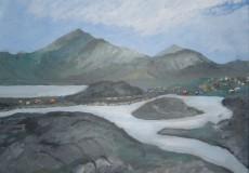 Udsigt fra Teleøen – Grønland